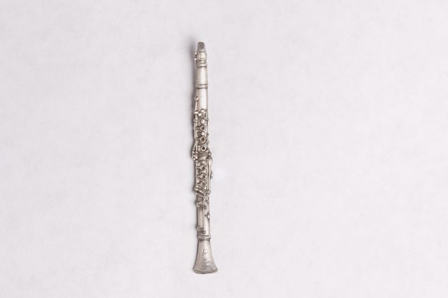 Clarinet Pin/Tie Tac - Pewter