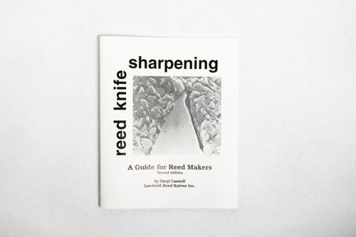 """Book - Reed Knife Sharpening Book"""" By Daryl Caswell"""""""