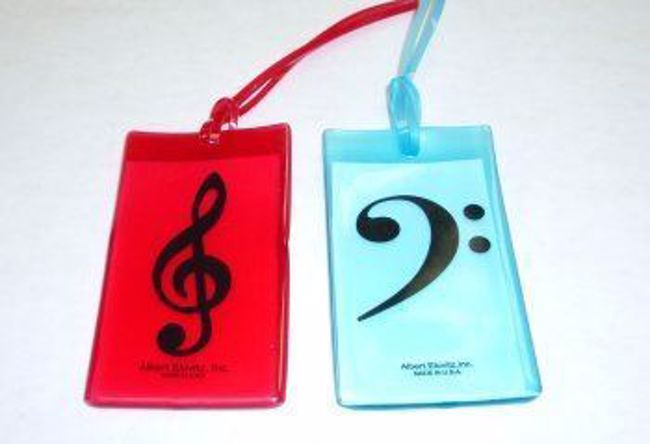 Colored Clef Tag