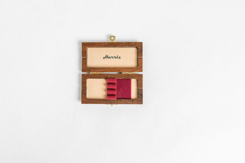 Wood Oboe Reed Case For 3